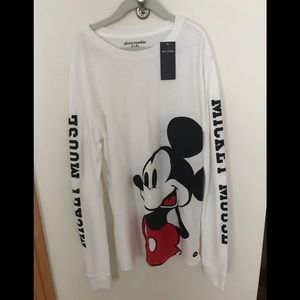 Abercrombie Kids Mickey Mouse Shirt  -NWT